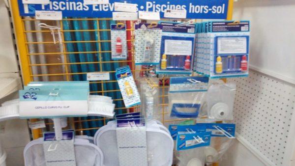 Productos para piscinas en la cooperativa agricola Petrer