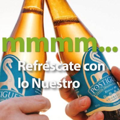 Cerveza artesanal El Postiguet en la cooperativa agricola de Petrer