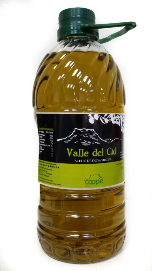 ACEITE DE OLIVA VALLE DEL CID 2 LITROS
